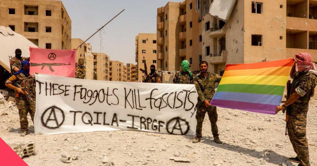 Представители сирийского ЛГБТ