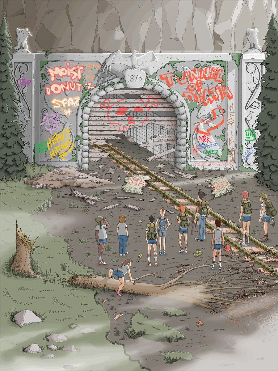 the_rotsac_tunnel_ms_paint_by_captainredblood-daezw5u