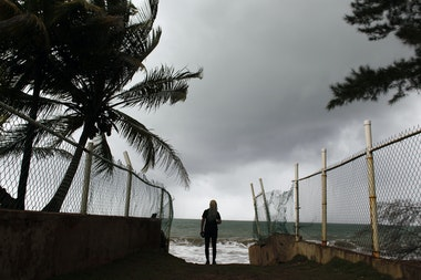 PUERTORICO-WEATHER-STORM-CARIBBEAN