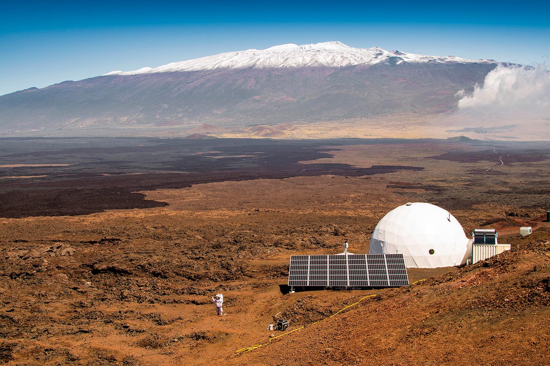 Ученые наГавайях восемь месяцев имитировали жизнь наМарсе