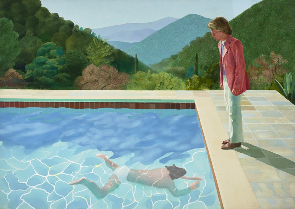 Portrait-of-an-Artist-Pool-with-Two-Figures-1971-1024x725