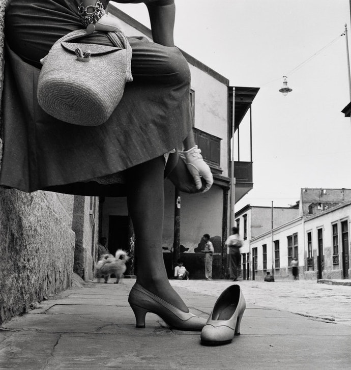 sore_foot_jean_patchett_lima_peru_1948
