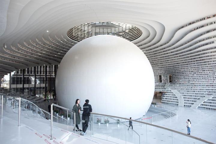 Китайцы открыли библиотеку с1 миллионом книжек — Дыхание перехватывает