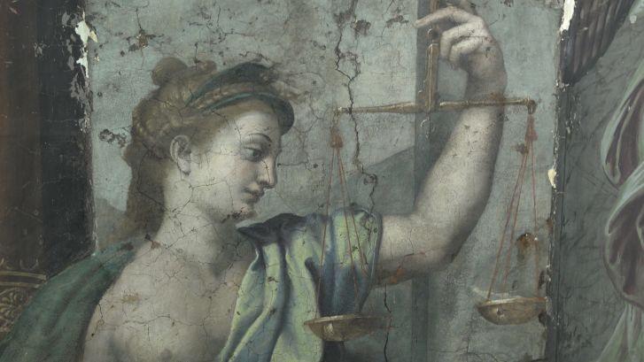 Вмузее Ватикана вовремя уборки отыскали  500-летние фрески Рафаэля