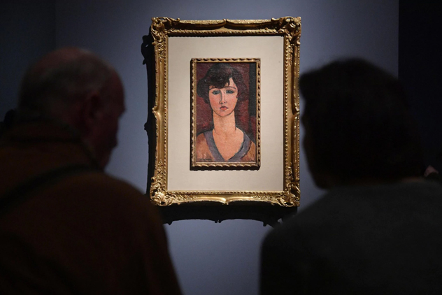 Десятки картин свыставки Модильяни вИталии оказались подделками
