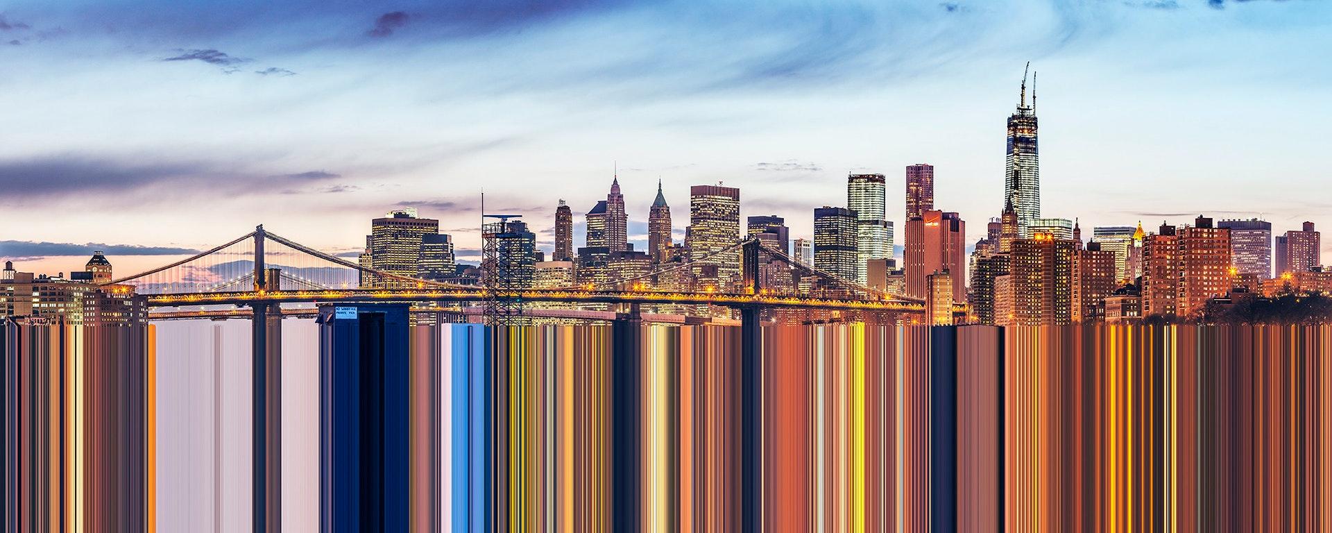 Нью-Йорк из проекта «Факсимиле»