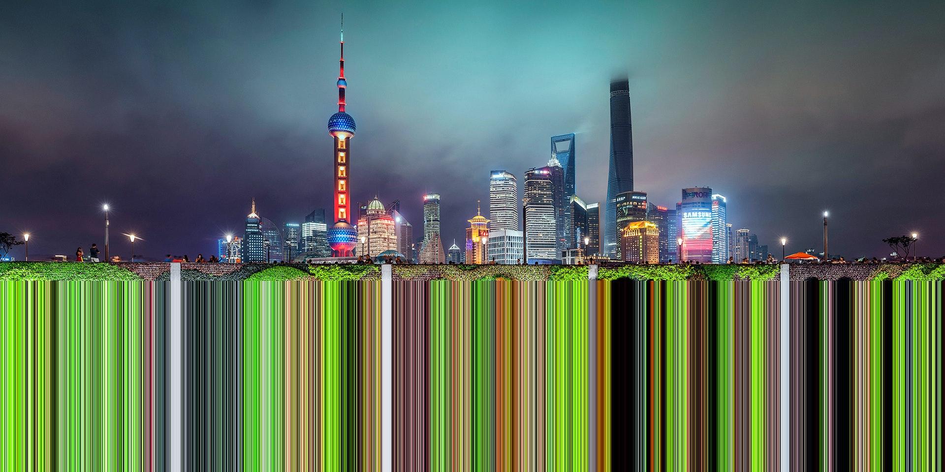 Шанхай из проекта «Факсимиле»