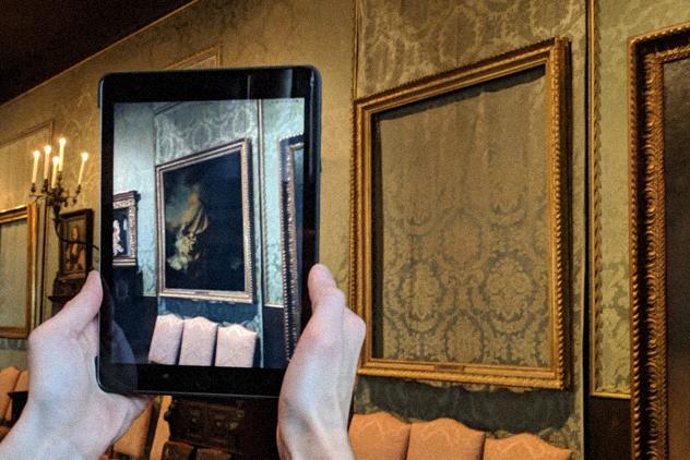 Украденные измузея США картины Рембрандта воссоздали вдополненной реальности