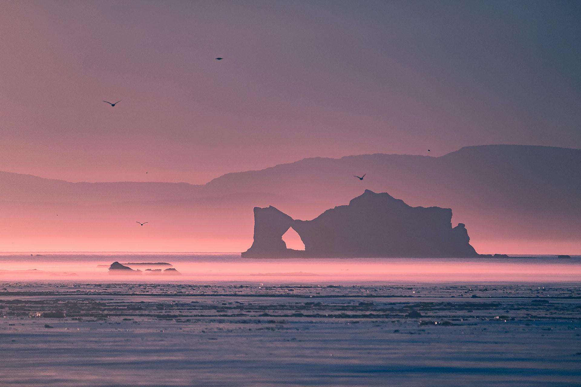 GREENLAND_Ilulissat_Icefjord_melting_iceberg_by_Maria_Sahai