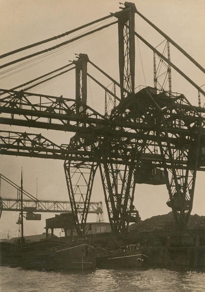 Мостовой кран, Роттердам