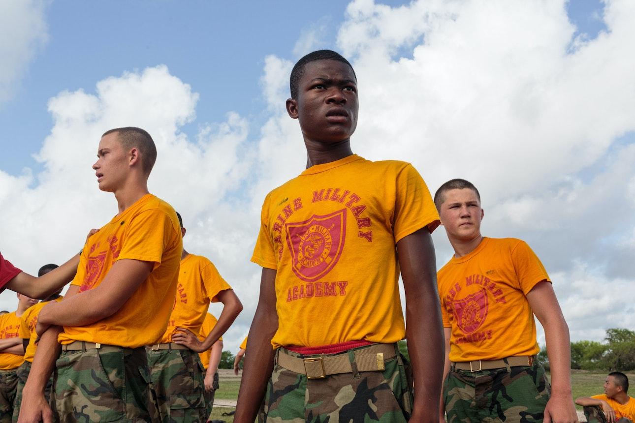 Marine Military Academy summer camp in Harlingen, TX.