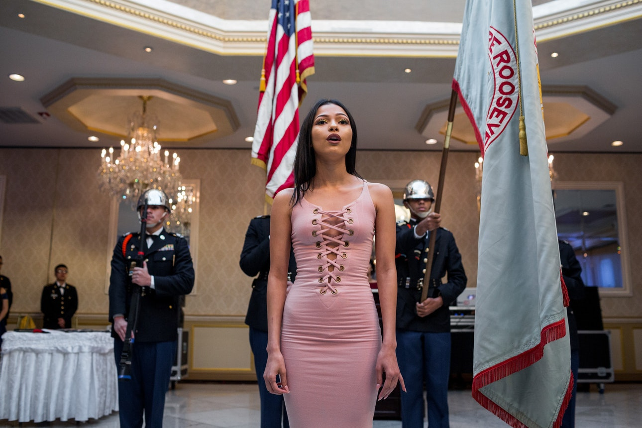 Theodore Roosevelt Educational Campus celebrates its 7th annual JROTC Military Ball at the Villa Baron Mansion, Bronx, NYC.
