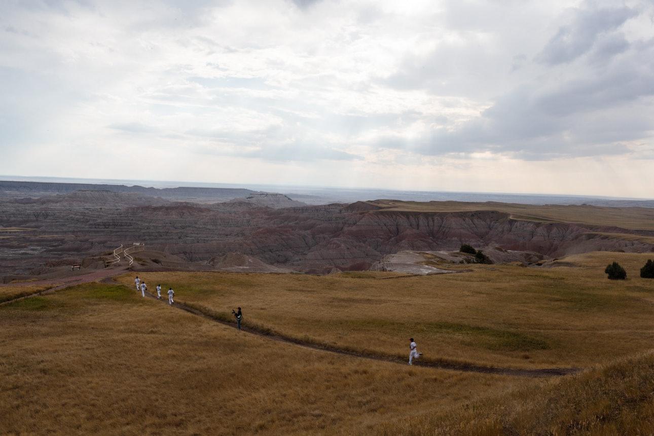 The Badlands of South Dakota