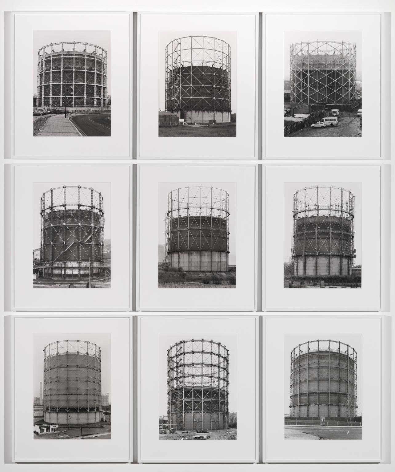 Gas Tanks 1965?2009 by Bernd Becher and Hilla Becher 1931-2007, 1934-2015