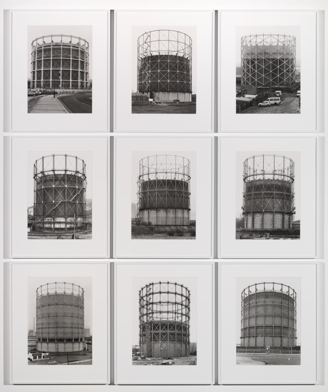 Gas Tanks 1965?2009 by Bernd Becher and Hilla Becher 1931-2007, 1934-2015