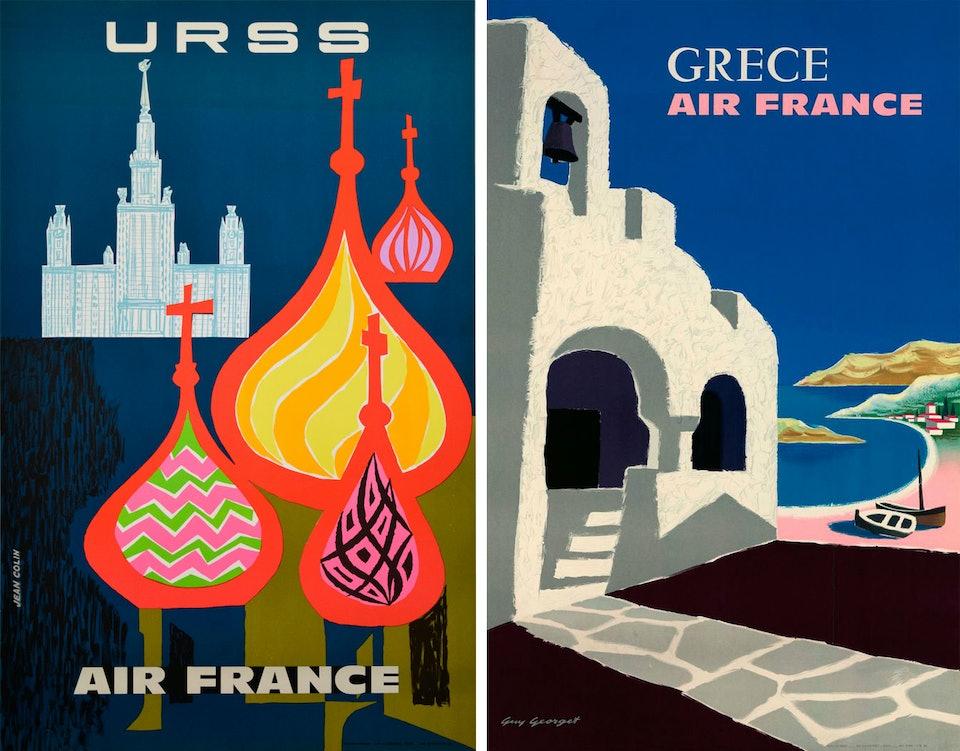 Air-France-Voyage-graphique-collection-affiches-urss-grece-index-grafik
