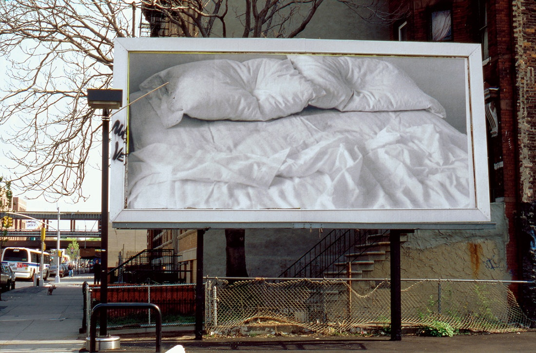 """Untitled"", 1991 Billboard © The Felix Gonzalez-Torres Foundation"