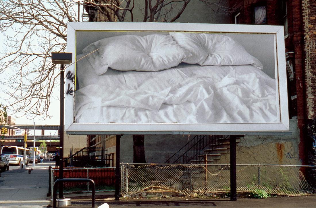 """Untitled"", 1991 Billboard © The Felix Gonzalez-Torres Foundation"
