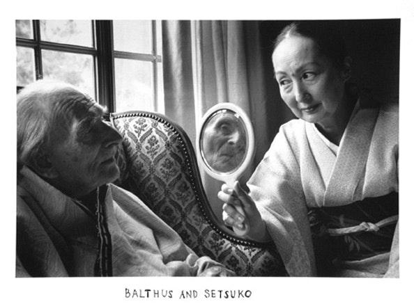 Balthus and Setsuko, 2000