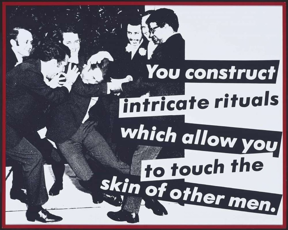 © Barbara Kruger. Courtesy- Mary Boone Gallery, New York.