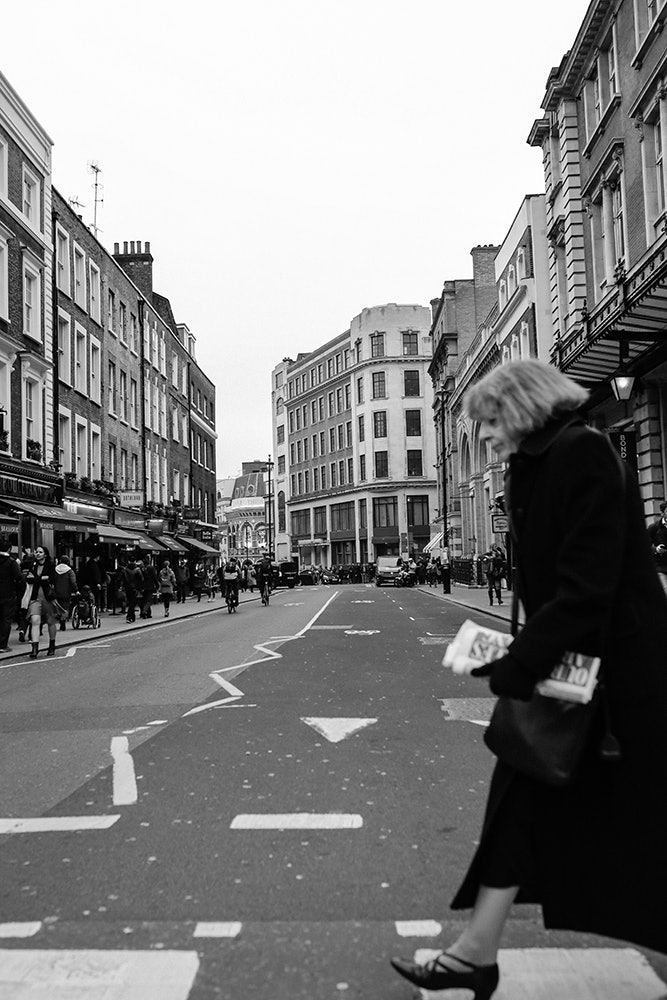 Wide Step. London