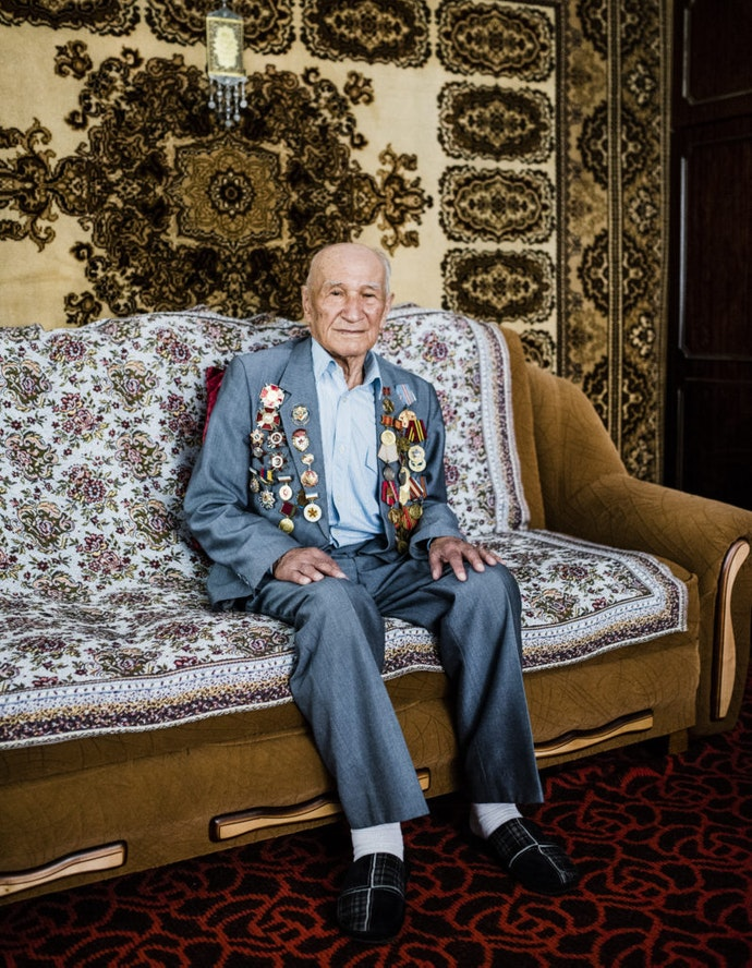 """The Silence is the Sound of Fear""On the life of the Crimean Tatars"