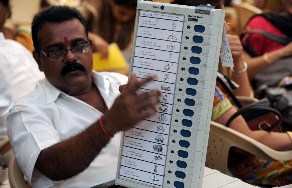 INDIA-POLITICS-ELECTION