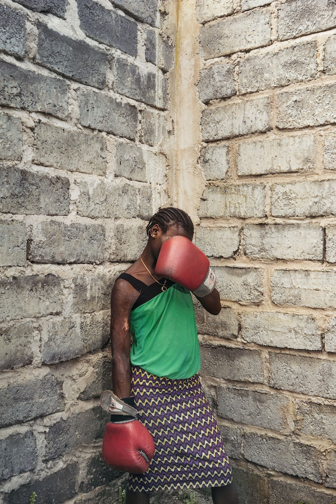 Boxing Agaist Violence: The Female Boxers Of Goma.