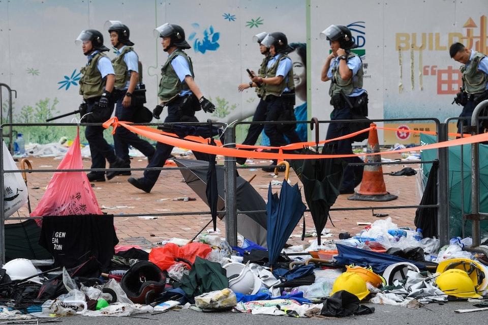 HONG KONG-CHINA-POLITICS-CRIME
