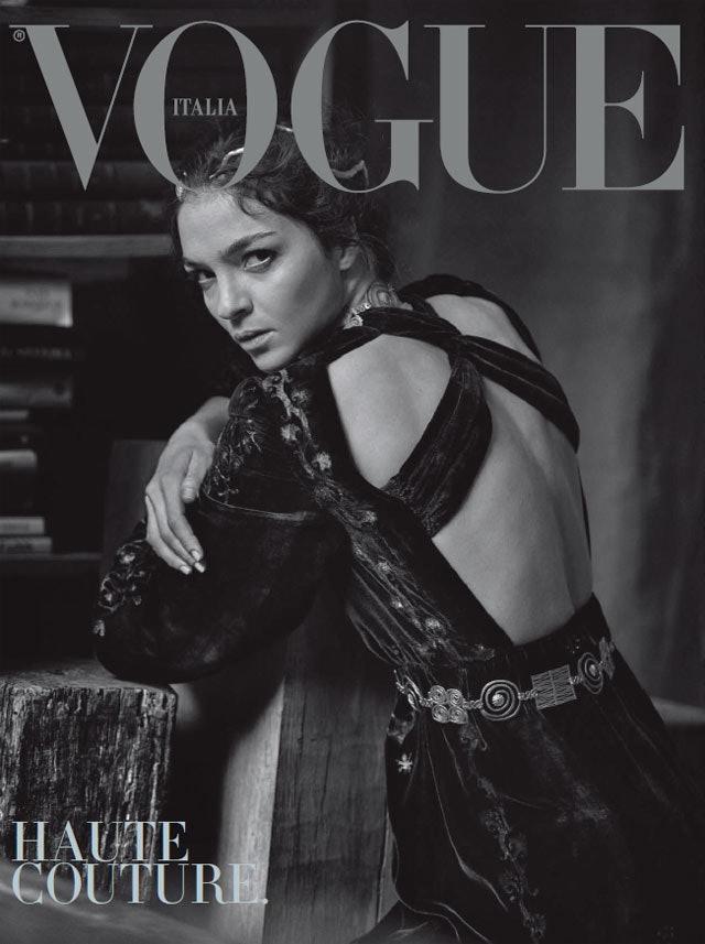 vogue-italy-peter-lindbergh-Maria-Carla-Boscono-cover-full