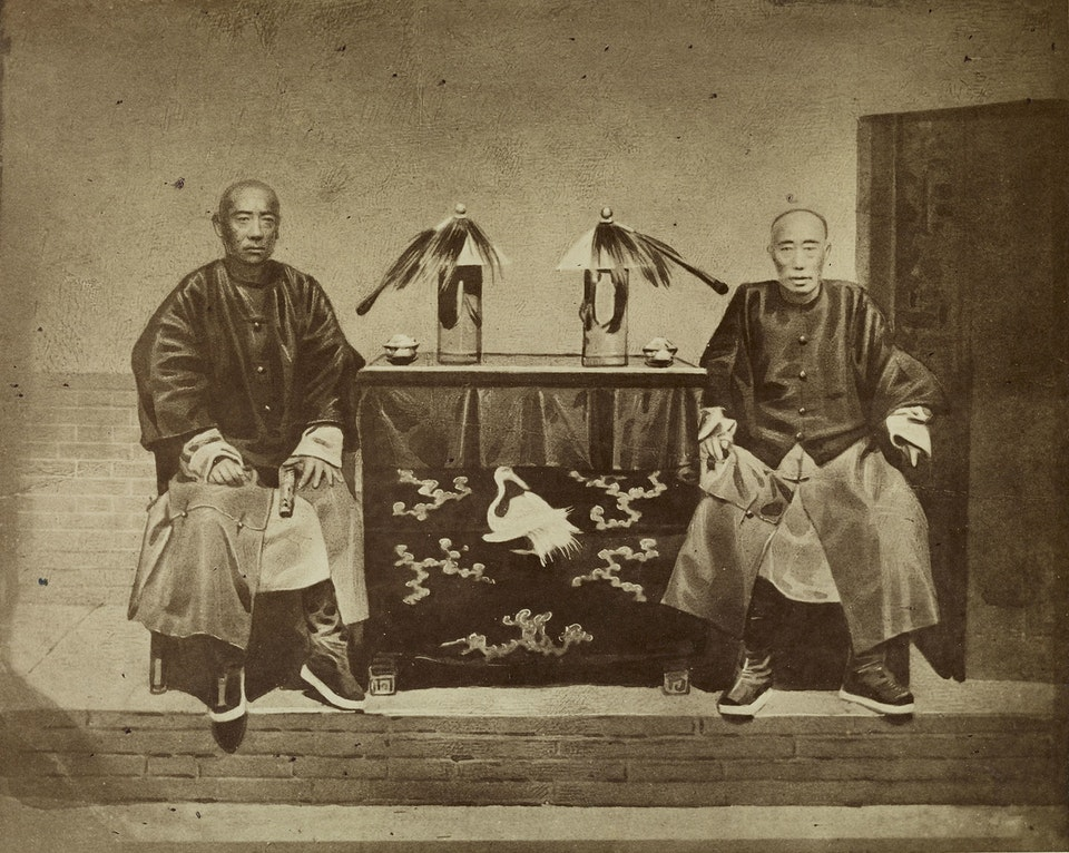 The Imperial Commissioners Kweilang and Hwarhana Lientsin, China
