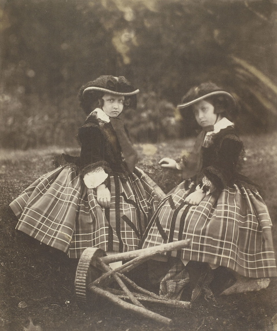 Princess Helena and Princess Louise, Balmoral
