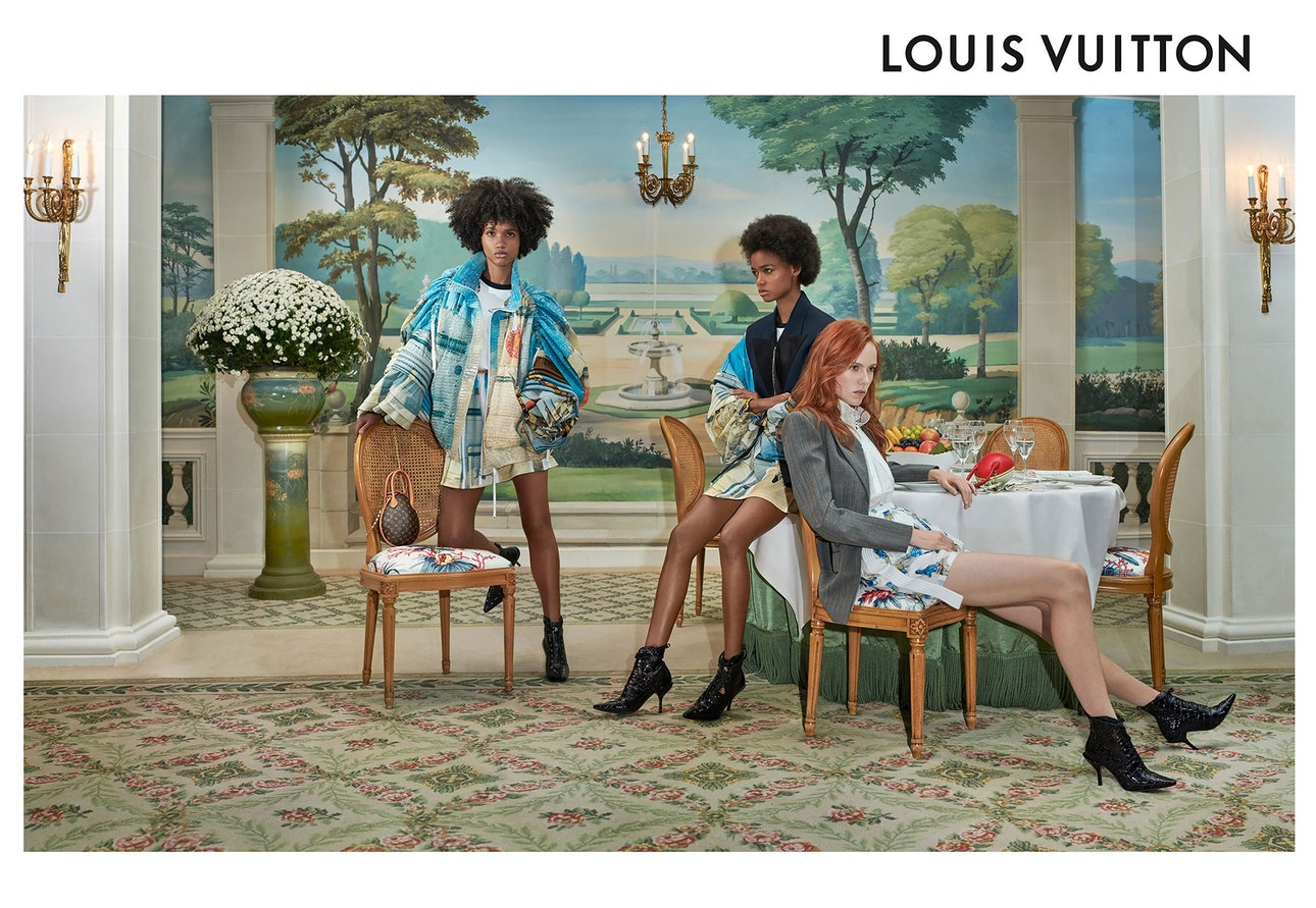 Louis Vuitton Spring Summer 2019 advertising campaign, photographed by Collier Schorr. © Collier Schorr, courtesy of Artist Commissions