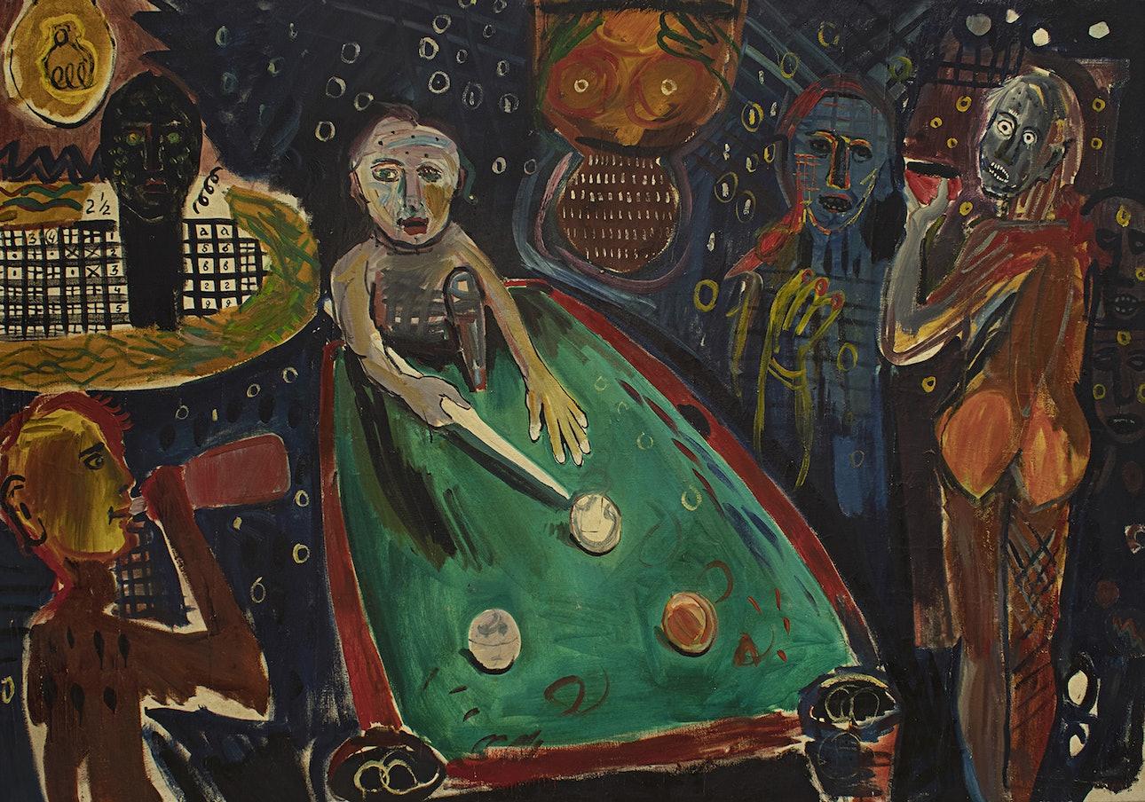 Ночь бильярдных шаров. 1993