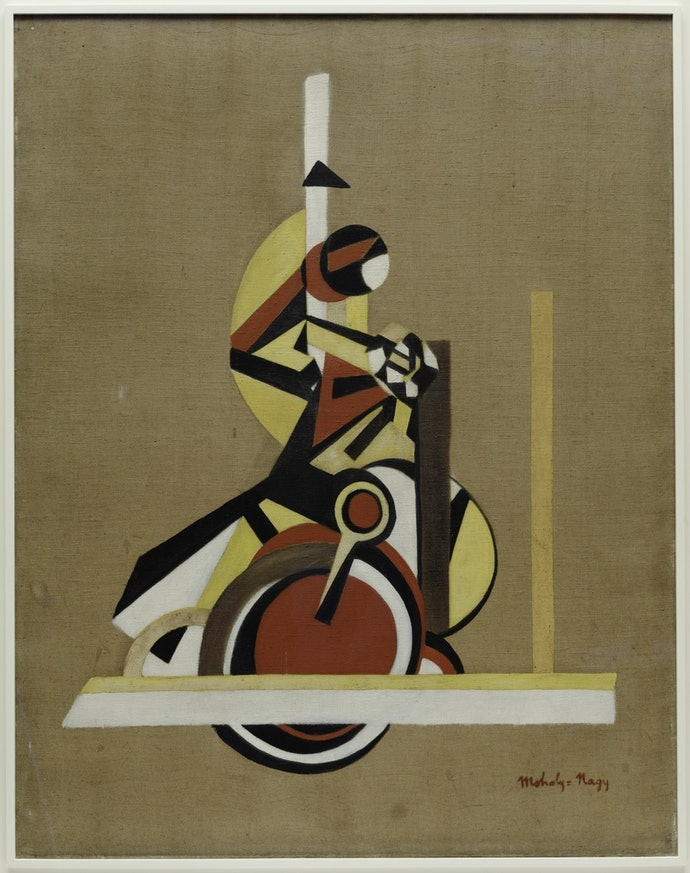The Bicyclist (Still Life), 1920 - 1921