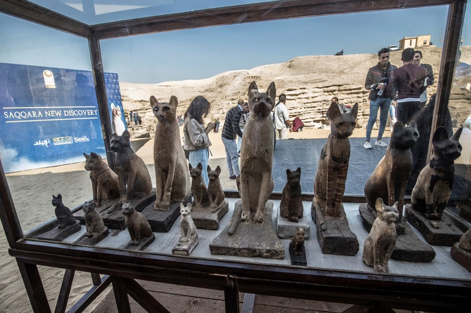EGYPT-ARCHAEOLOGY-ANTIQUITIES