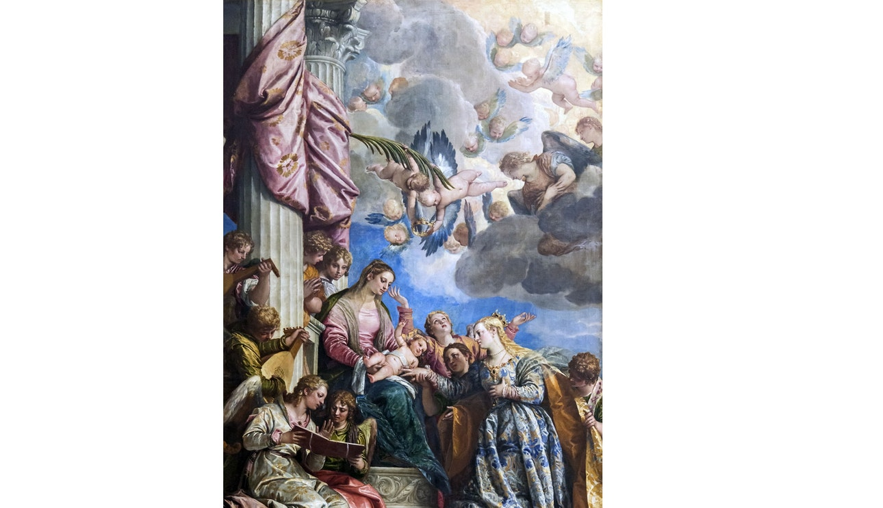 Accademia - The Mystic Marriage of St. Catherine by Veronese