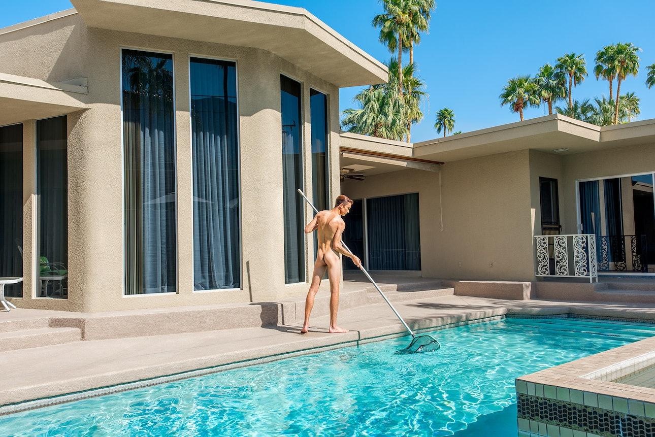 23_Naked Pool Boy