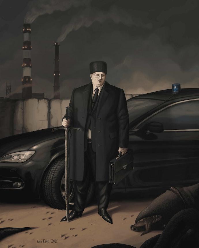 CLXXVII. Господин Айзен, министр черной металлургии Федерации Нордланд. 21.03.2017