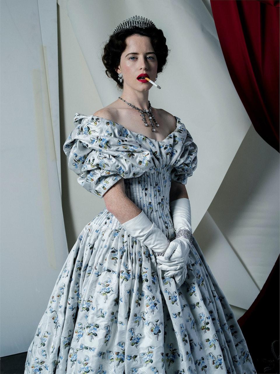 Claire Foy, Fashion- Alexander McQueen, London, 2017 © Tim Walker Studio, Courtesy Michael Hoppen Gallery