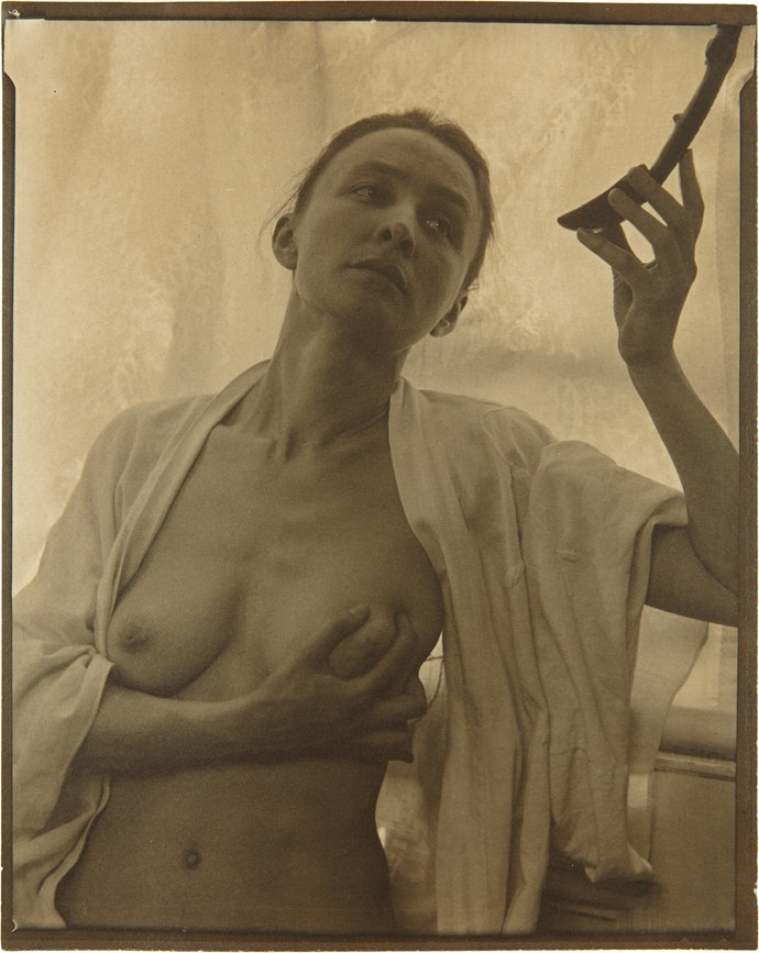 Georgia_O'Keeffe_by_Stieglitz,_1919 копия