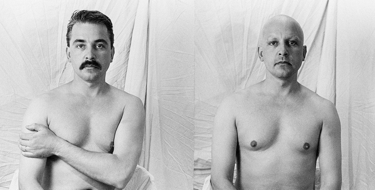 Виргилиус Шонта. Автопортрет. 1990. Предоставлено семьей фотографа