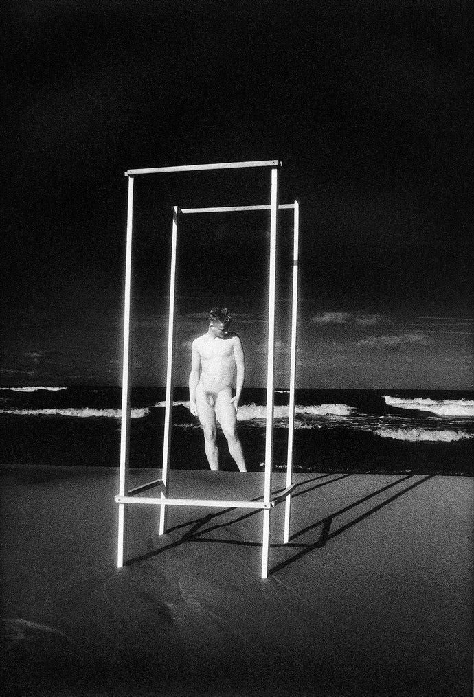 Виргилиус Шонта. Возле моря, I. 1991. Предоставлено семьей фотографа и Р. Пожерскисом