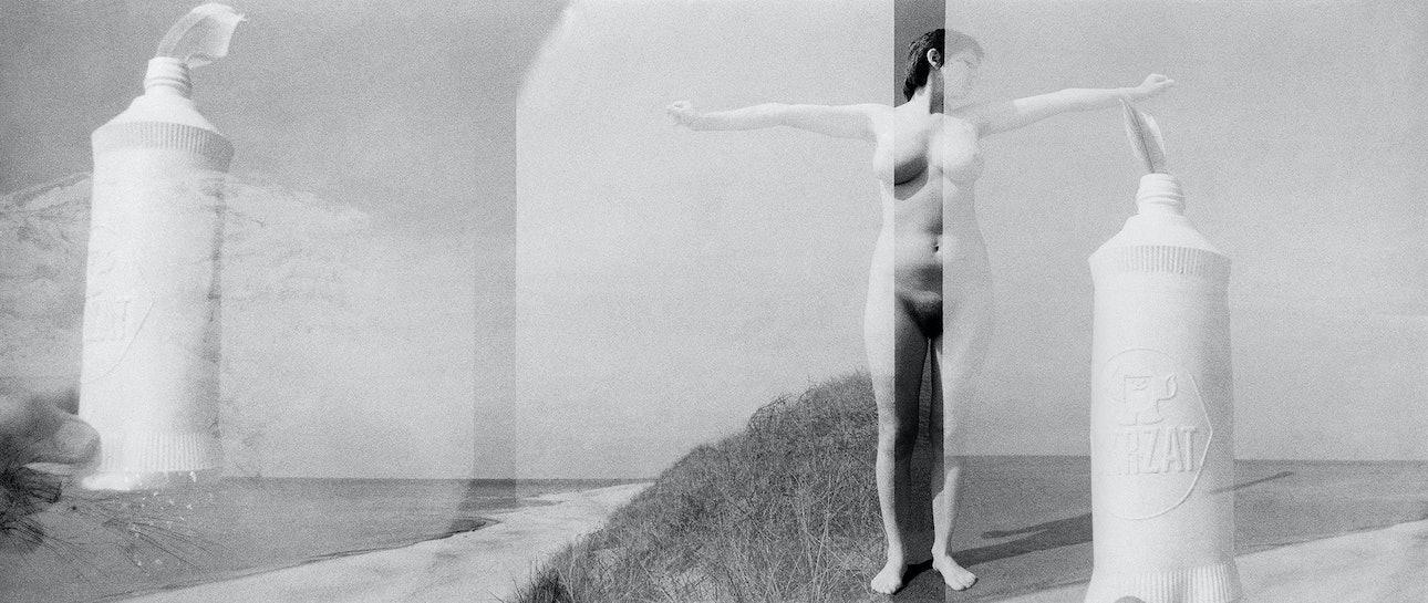 Виргилиус Шонта. Женщина возле моря. 1980. Предоставлено семьей фотографа и Р. Пожерскисом 2