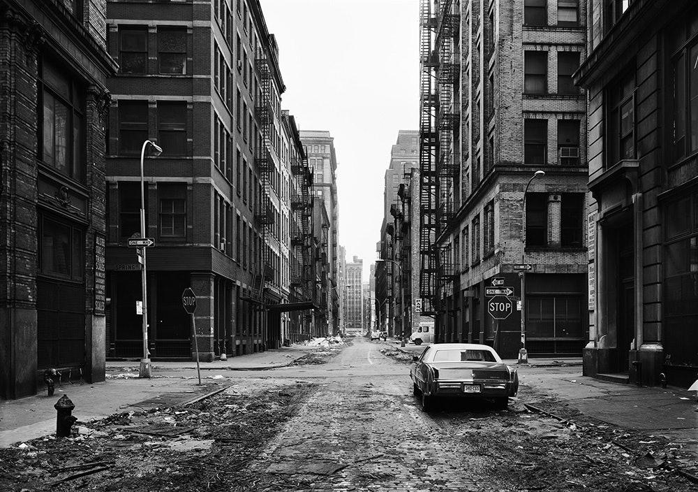 Crosby Street, Soho, New York 1978 Inkjet print 66 x 84 cm © Thomas Struth