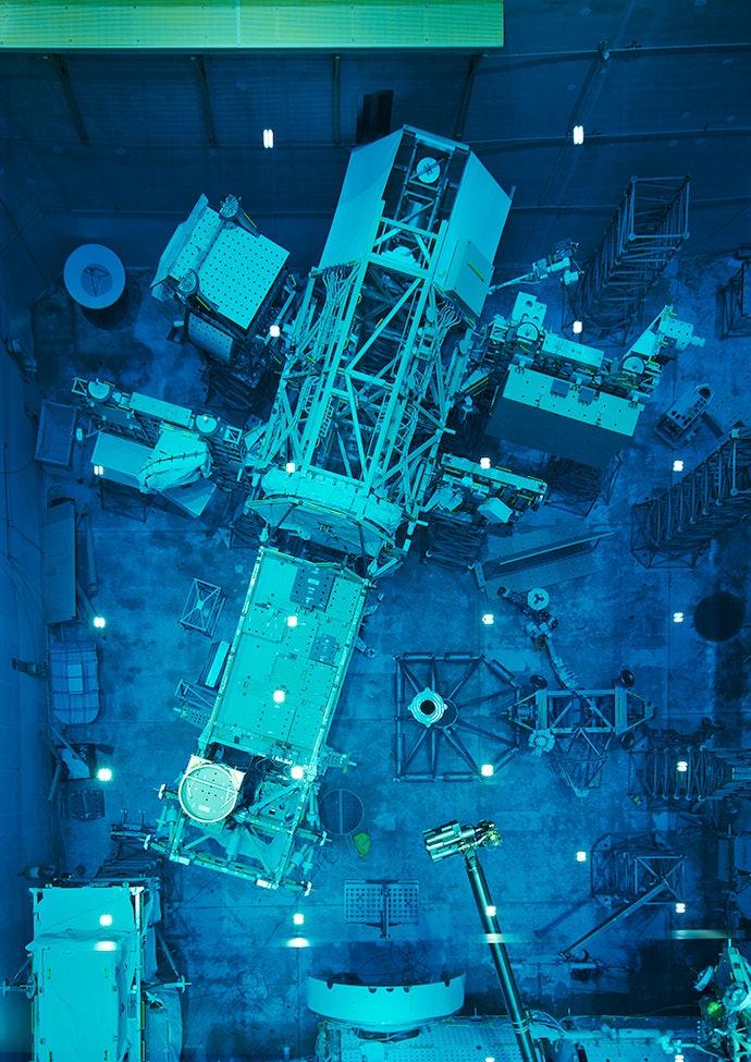 Full-scale Mock-up 2, JSC, Houston 2017 Inkjet print 208.1 x 148.5 cm MAST Foundation Collection © Thomas Struth