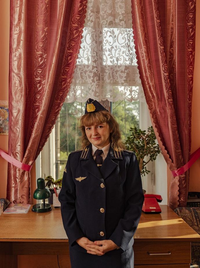 Ukrainian Railroad Ladies-1