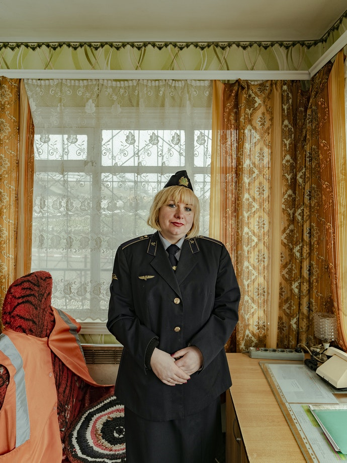Ukrainian Railroad Ladies-3