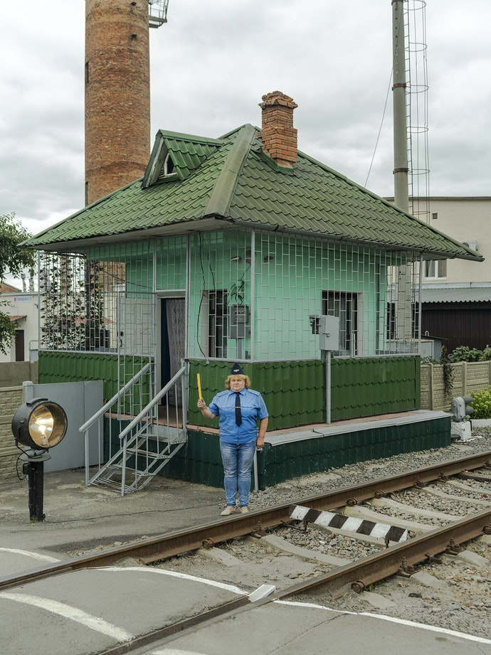 Ukrainian Railroad Ladies-6
