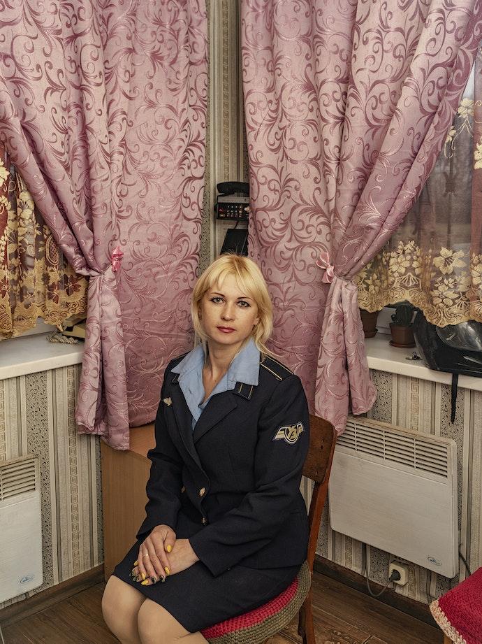 Ukrainian Railroad Ladies-9